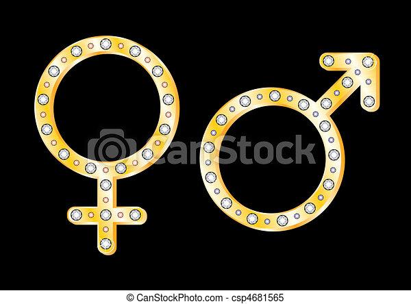 Simbolos de oro - csp4681565