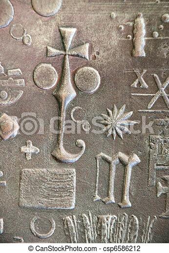 Simbolos religiosos - csp6586212