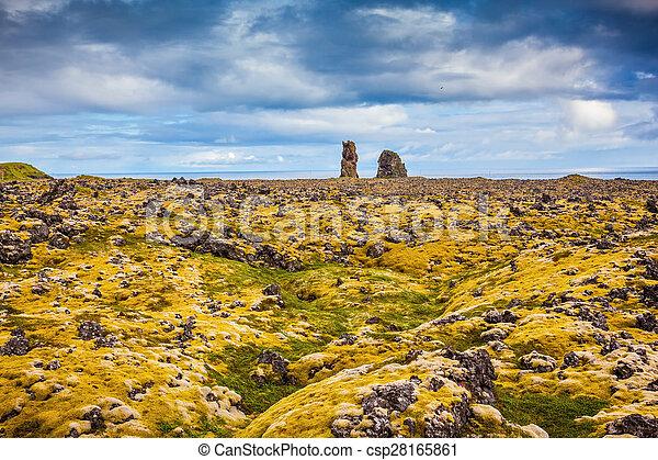 só, pedras praia - csp28165861