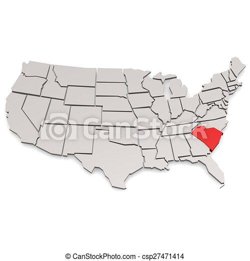 södra carolina - csp27471414