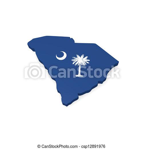 södra carolina - csp12891976