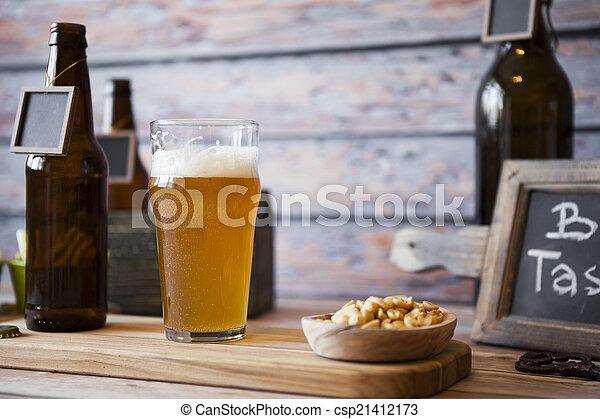 sör, ízlelés - csp21412173