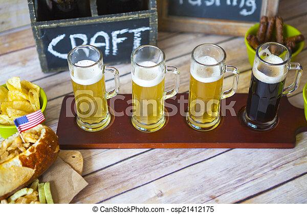 sör, menekülés - csp21412175