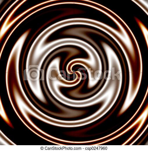 sötét, örvény, csokoládé - csp0247960