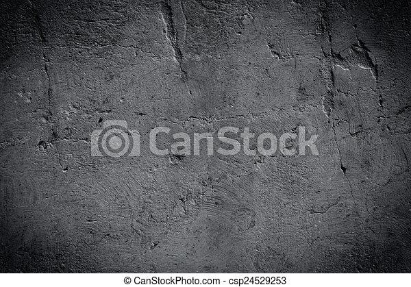 sötét háttér, szürke, struktúra - csp24529253