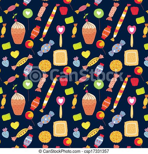 Süßigkeiten, lustiges, kuchen, hintergrund, süßigkeiten Clipart ...