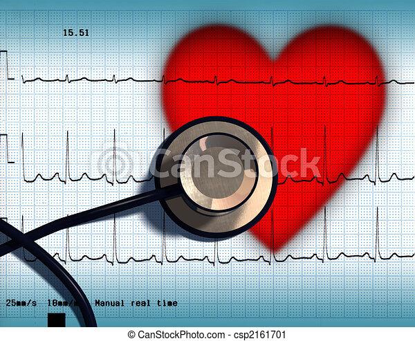 saúde coração - csp2161701