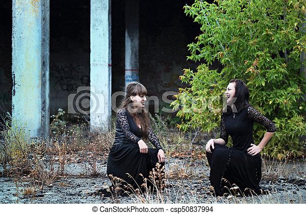 Sabbath in ruins - csp50837994