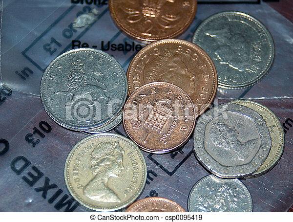 sacchi soldi - csp0095419