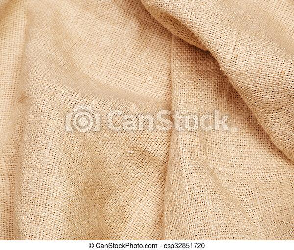 sacking, fond, burlap, hessian - csp32851720