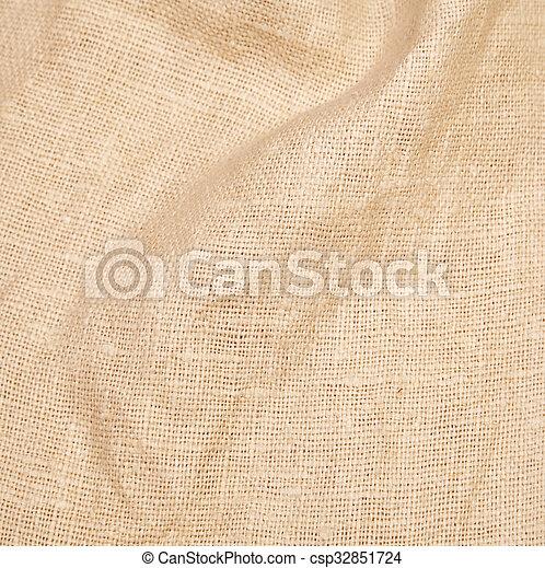 sacking, fond, burlap, hessian - csp32851724