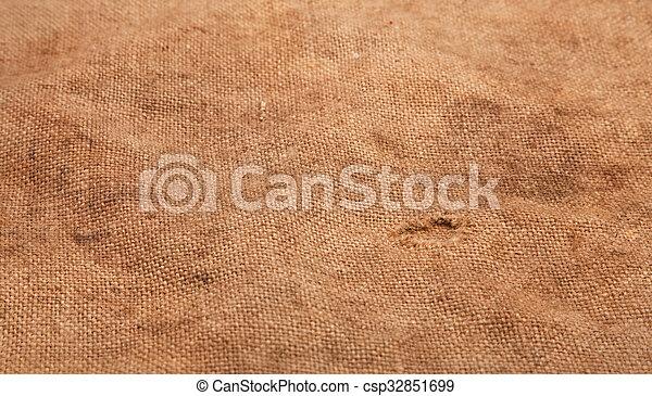 sacking, fond, burlap, hessian - csp32851699