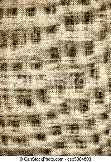 Burlap Textur - csp5364803