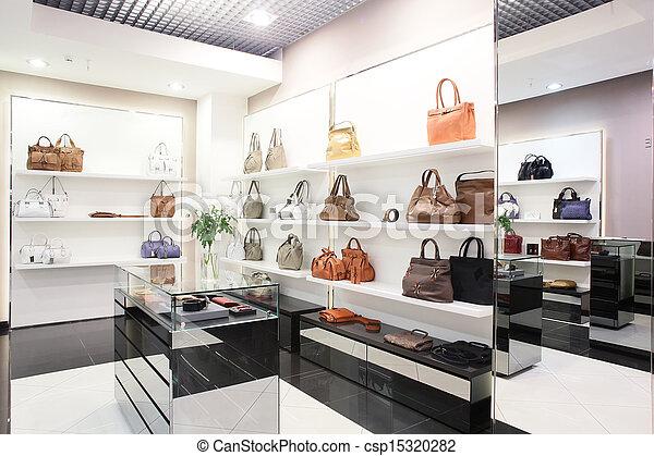 saco, luxo, loja, europeu - csp15320282