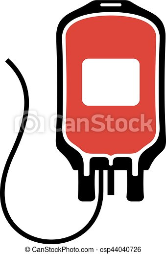 saco, sangue - csp44040726