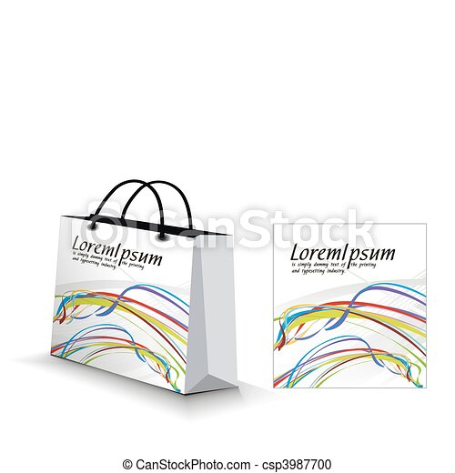 saco, shopping - csp3987700