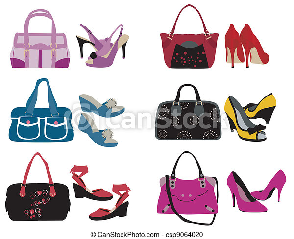 sacolas, sapatos - csp9064020