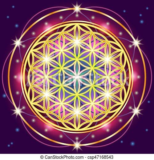 sacré, géométrie - csp47168543
