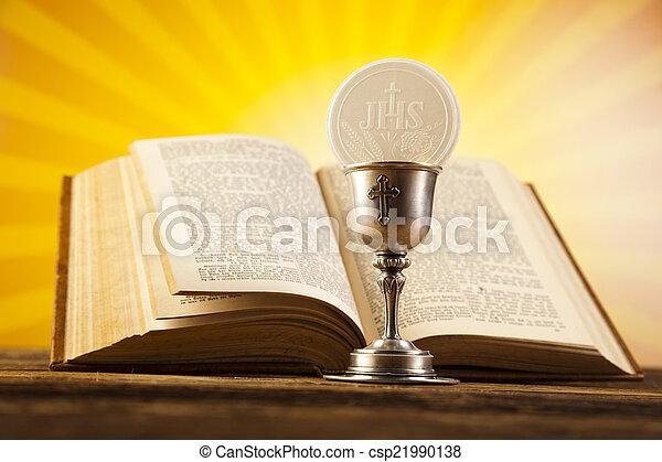 Sacrament of communion - csp21990138