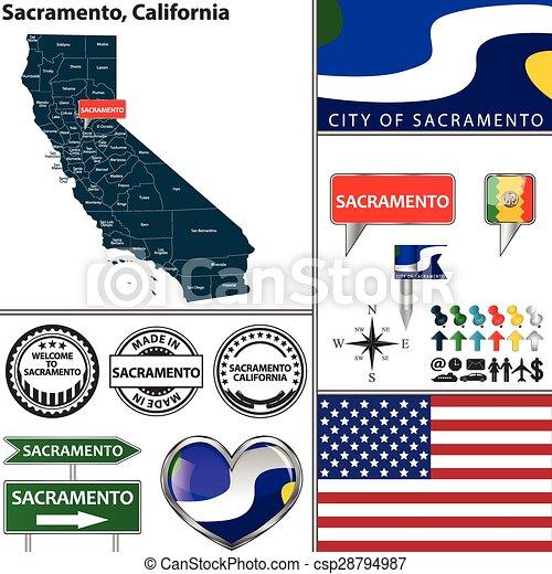 Sacramento, California - csp28794987