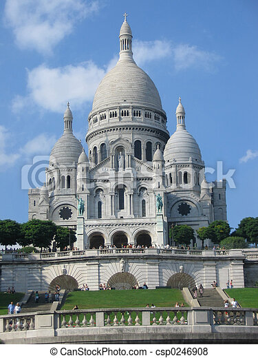 Sacre Coeur - csp0246908