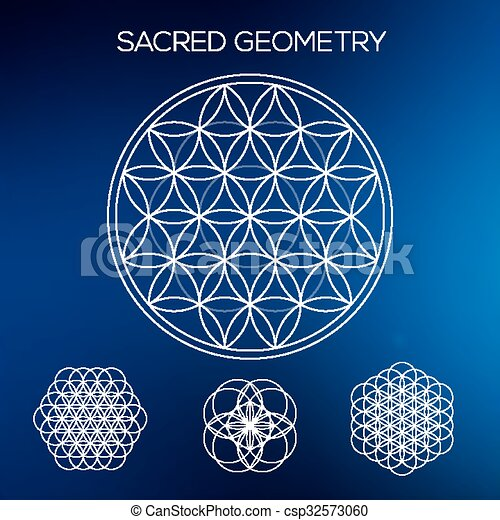 Sacred Geometry Hipster Symbols And Elements Abstract Geometric Unique Sacred Geometry Patterns