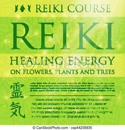 Sacred geometry. Reiki symbol. - csp44236935