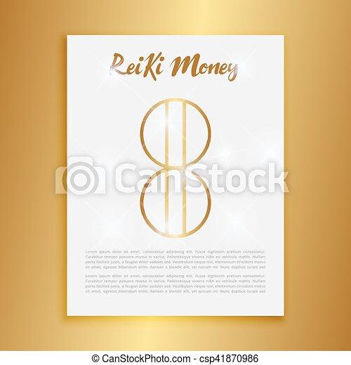 Sacred geometry reiki symbol the word is made up of two vector the word is made up of two japanese words stopboris Choice Image