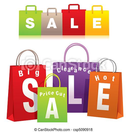 sacs, achats - csp5090918