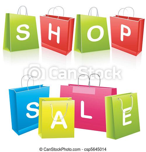 sacs, achats, vente - csp5645014