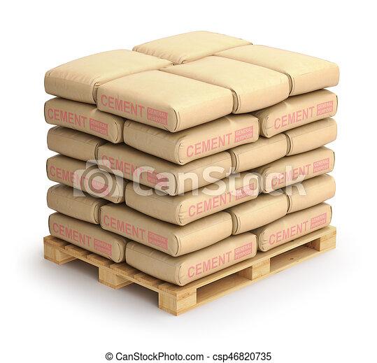 sacs ciment sacs bois illustration palette ciment dessins rechercher clipart. Black Bedroom Furniture Sets. Home Design Ideas