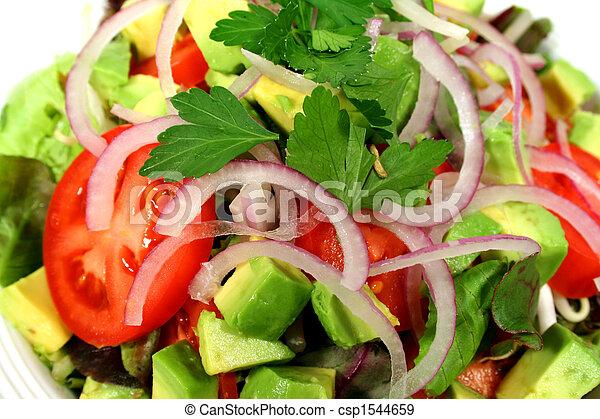 Delicioso ensalada mixta - csp1544659