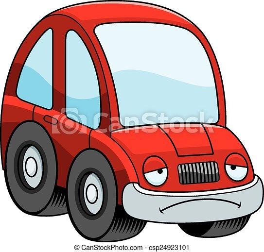 sad cartoon car a cartoon illustration of a car looking sad rh canstockphoto com cartoon car clip art black and white cartoon race car clipart