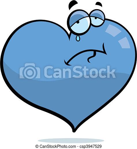 Sad Heart - csp3947529