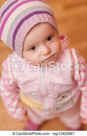 sad little girl - csp12422667
