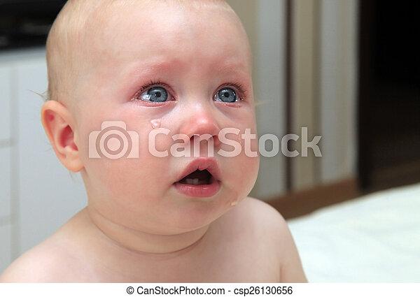 sad little girl - csp26130656