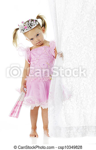 Sad Little Princess - csp10349828