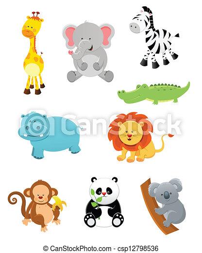 Safari Animals - csp12798536