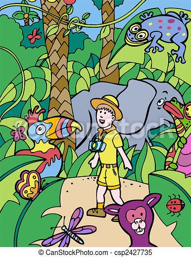 safari trip - csp2427735