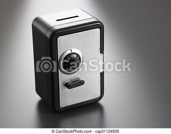 safe box - csp31124935