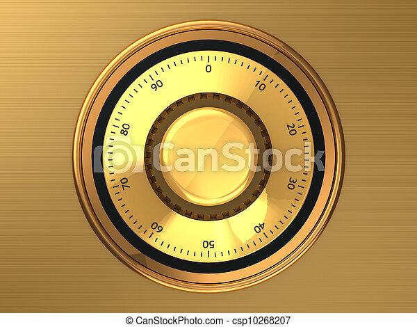 Safe dial - csp10268207