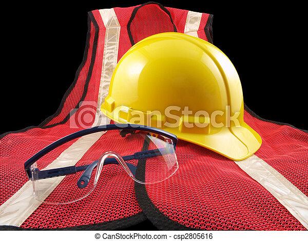 Safety Equipment Trio - csp2805616