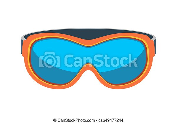 safety goggles isolated vector icon outdoor activity eps vector rh canstockphoto com