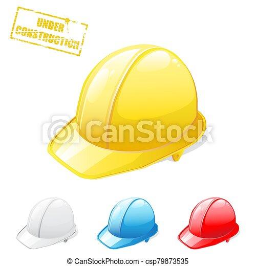 Safety helmet - csp79873535