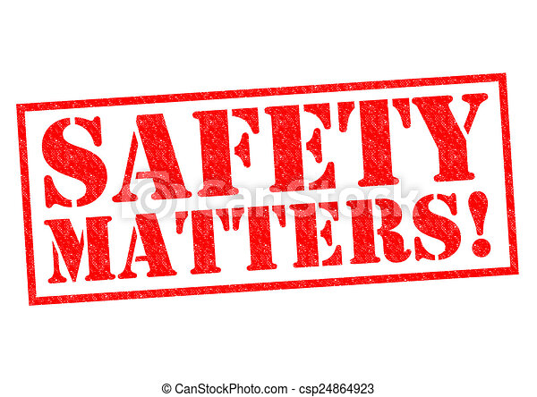SAFETY MATTERS! - csp24864923