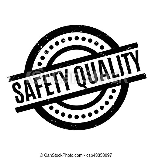 Safety Quality Rubber Stamp Grunge Design With Dust Scratches