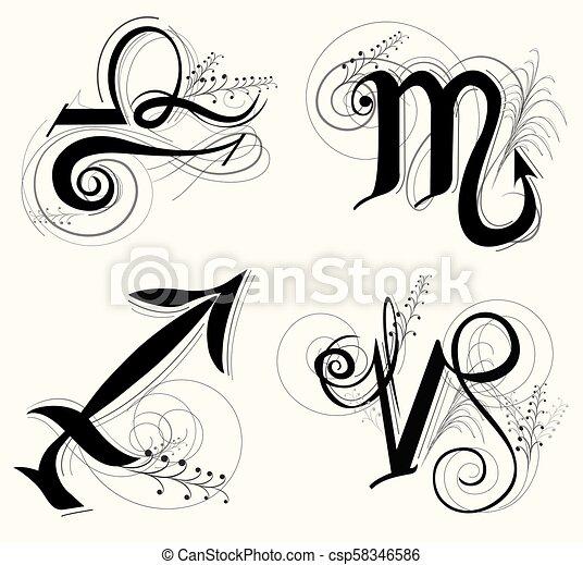 Sagittarius Classicas Escorpiao Simbolo Horoscopo Capricornio