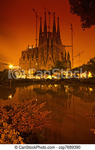 Sagrada Familia, Barcelona - Spain - csp7689390