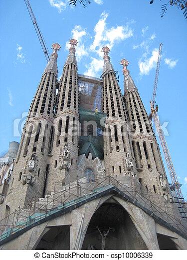 Sagrada Familia in Barcelona - csp10006339