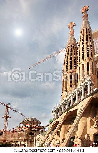 Sagrada Familia - csp24151418